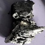 Terbium Pieces by Distillation Method