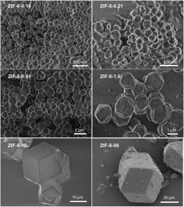 ZIF-8 Metal Organic Frameworks MOFs